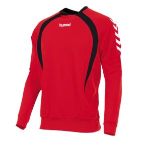team-top-round-neck-red-black-white
