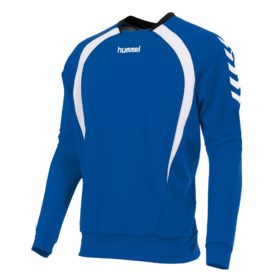 team-top-round-neck-royal-white